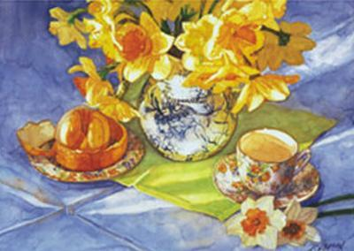 Daffodils & Orange