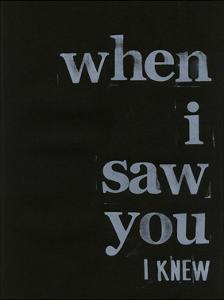 When I Saw You... I by Deborah Velasquez