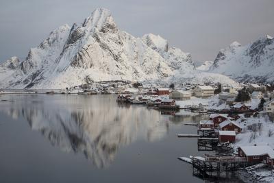 Lofoten Islands, Moskenesoya, Reine, Norway.