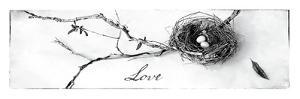Nest and Branch II Love by Debra Van Swearingen