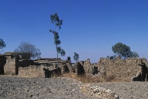Debre Damo Monastery in Aksum, Ethiopia, Tigray, 6th Century