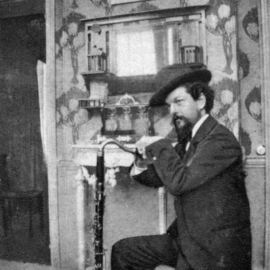 Debussy Photo-Pierre Louys-Photographic Print