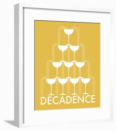 Decadence 2-Olivia Blinco-Framed Art Print