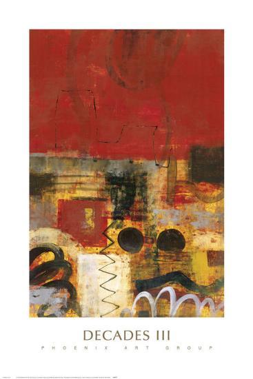 Decades III-James Elliot-Art Print