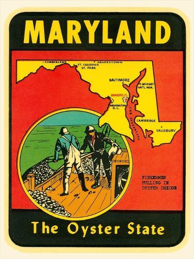 Decal for Maryland--Art Print