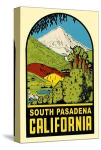 Decal of South Pasadena, California