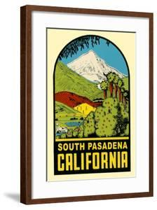 Decal of South Pasadena, California