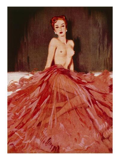 December, 1952-David Wright-Giclee Print