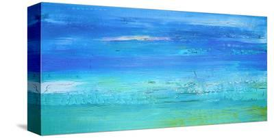 December Beach Day-Alicia Dunn-Stretched Canvas Print