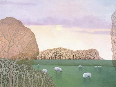 December Dusk, 2008-Ann Brain-Giclee Print