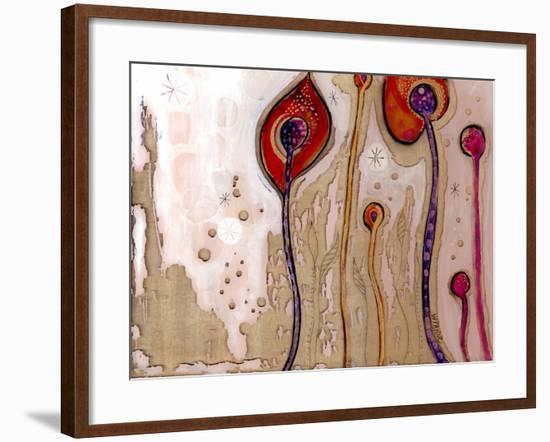 December Flowers-Wyanne-Framed Giclee Print