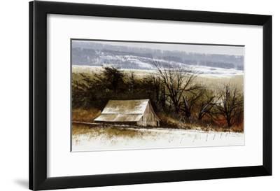 December Foothills-Miguel Dominguez-Framed Premium Giclee Print