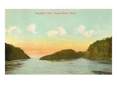 Deception Pass, Puget Sound, Washington--Art Print