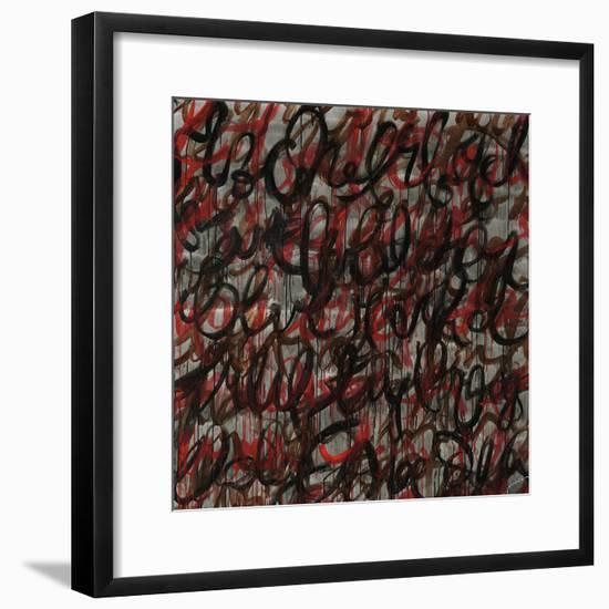 Decipher the Graffiti-Jolene Goodwin-Framed Giclee Print