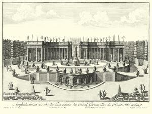Fountains of Versailles III by Decker