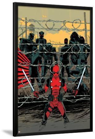 Deadpool #16 Cover: Deadpool, Colossus, Sunfire, Banshee, Wolverine, Cyclops, Storm,
