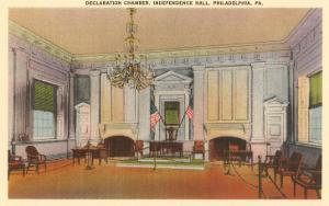 Declaration Chamber, Independence Hall, Philadelphia, Pennsylvania