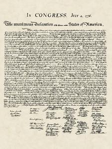Declaration of Independence (Document)