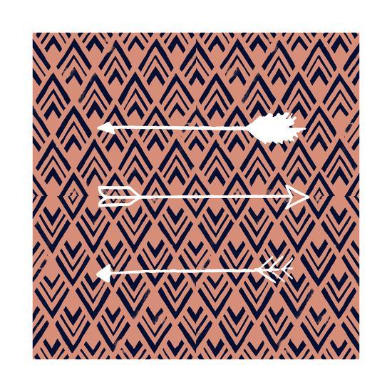 Deco Arrow II-Studio W-Art Print