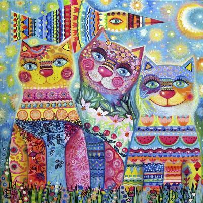Deco Cats-Oxana Zaika-Giclee Print