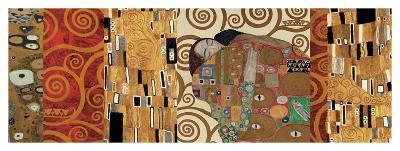 Deco Collage (from Fulfillment, Stoclet Frieze)-Gustav Klimt-Giclee Print