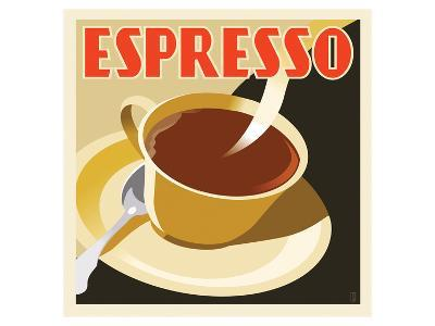 Deco Espresso I-Richard Weiss-Art Print