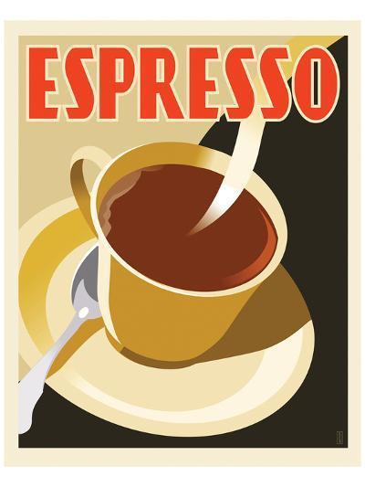 Deco Espresso II-Richard Weiss-Art Print