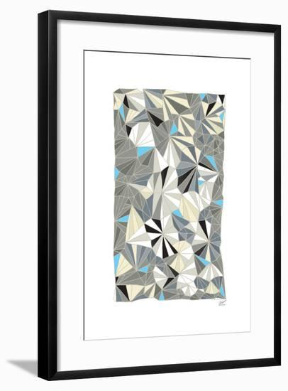 Deco Facet-Dominique Vari-Framed Art Print