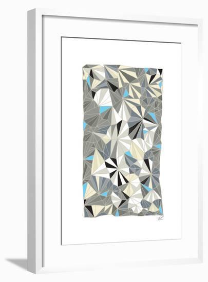 Deco Facet-Dominique Vari-Framed Art Print