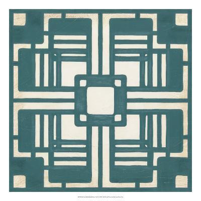 Deco Tile I-Erica J^ Vess-Giclee Print