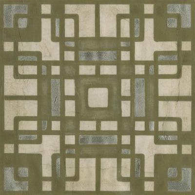 Deco Tile II-Erica J^ Vess-Art Print