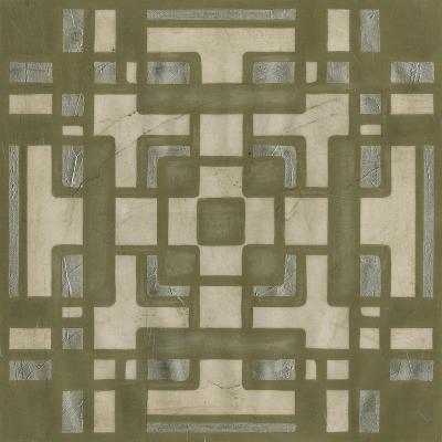 Deco Tile III-Erica J^ Vess-Art Print