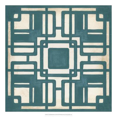 Deco Tile IV-Erica J^ Vess-Giclee Print