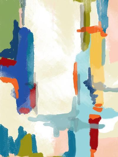 Deconstructed Landscape 1-Jan Weiss-Art Print