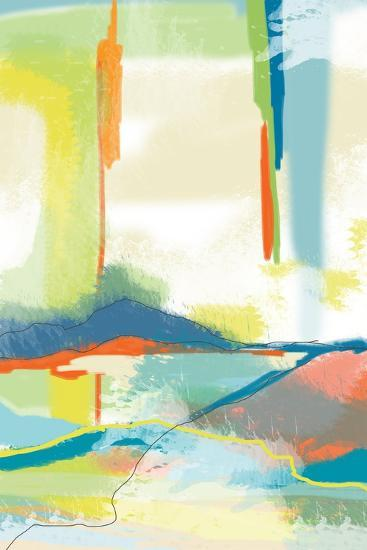 Deconstructed Landscape 4-Jan Weiss-Art Print