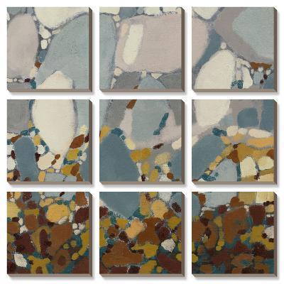 Deconstructed Mosaic-Jennifer Goldberger-Canvas Art Set