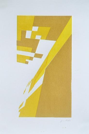 Deconstruction  No. 8-Guilherme Pontes-Giclee Print