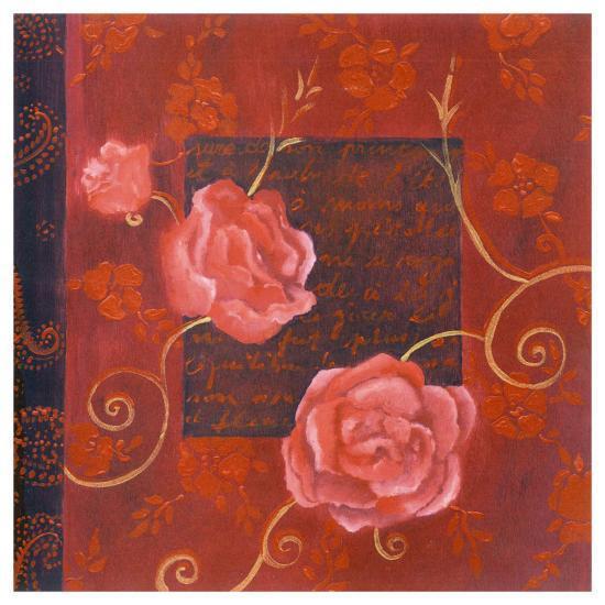 Décor III-Loetitia Pillault-Art Print
