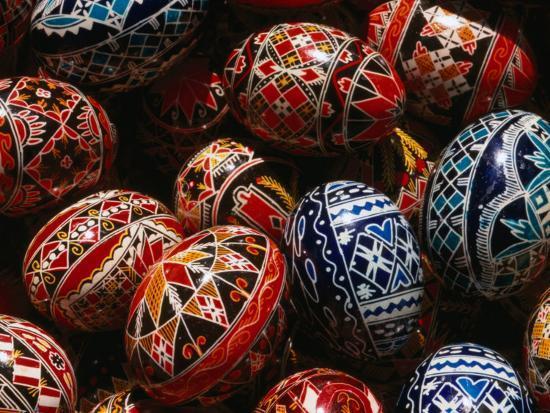 Decorated Eggs For Sale Outside Humor Monastery Humor Monastery