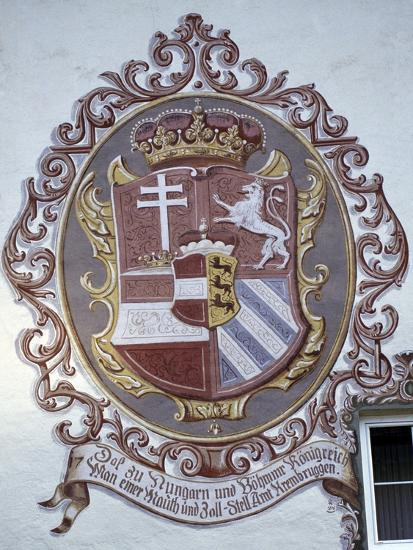 Decorated Facade in Kremsbrueke, Innerkrems, Carinthia, Austria--Giclee Print
