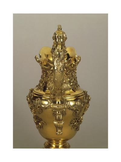 Decorated, Gilded Silver Jug by George Wickes, 1735--Giclee Print