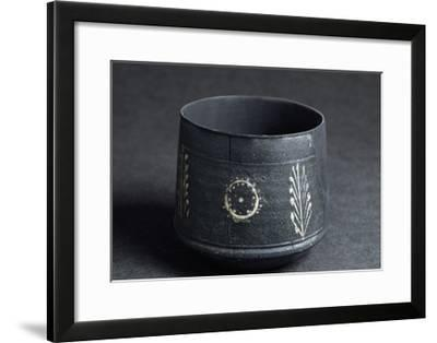 Decorated Jar, from Valle D'Aosta, Italy--Framed Giclee Print
