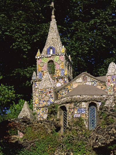 Decorated Little Chapel, Guernsey, Channel Islands, United Kingdom, Euruope-Tim Hall-Photographic Print