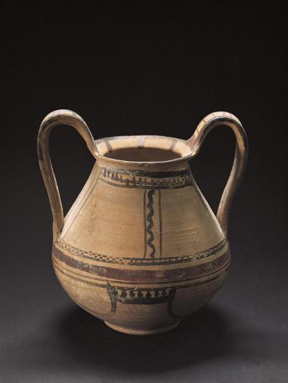 Decorated Vase, Italiot Pottery from Pisticci, Basilicata, Italy--Giclee Print