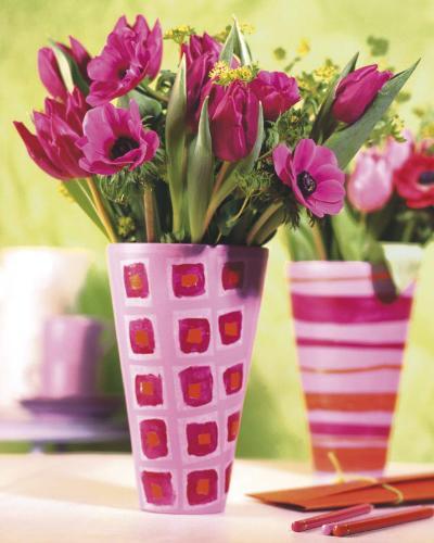 Decorated Vases--Art Print