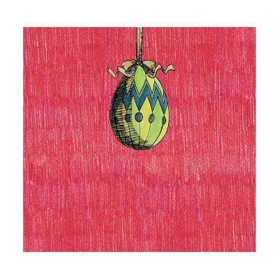 Decoration Egg for Eastereaster-tannene-Art Print