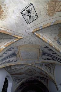 Decoration from Cervena Lhota Castle, Near Jindrichuv Hradec, Bohemia, Czech Republic.