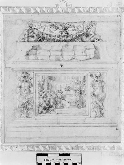 Decoration of a Casket, C.1535-Baccio Bandinelli-Giclee Print