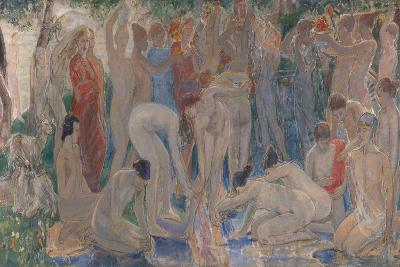 Decoration: The Excursion of Nausicaa-Dame Ethel Walker-Giclee Print