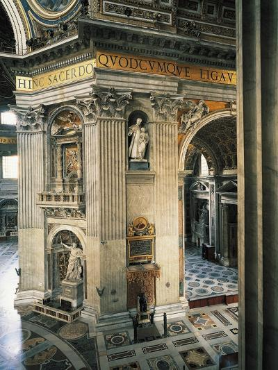 Decorations on First Pillar on Right--Giclee Print